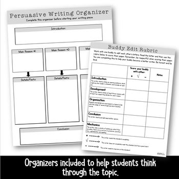 Making a Claim (Cursive Writing)- Article, Organizers, and Essay