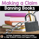 Making a Claim: Banned Books (Persuasive/Opinion Writing)- Banned Books Week
