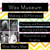 Making a Difference:  A Wax Museum Biography Project
