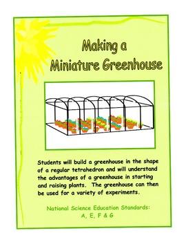 Making a Miniature Greenhouse