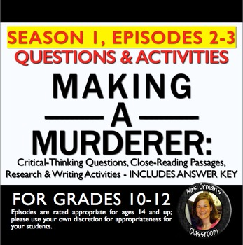 Making a Murderer Episodes 2-3 Critical Thinking Questions