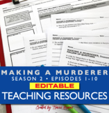 Making a Murderer Season 2 Teaching Resources