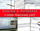 Making a Murderer Teaching Unit Bundle Season 1