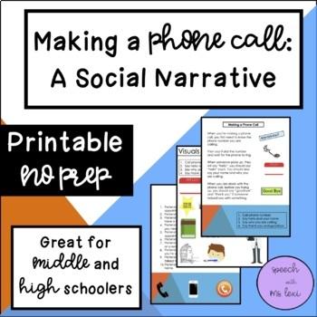 Making a Phone Call: A Social Script