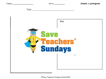 Making a Pictogram lesson plans, activities and more