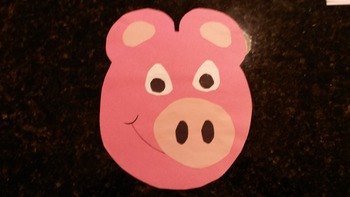 Learning your colors?  Making a Pig for the Color Pink