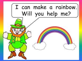 Making a Rainbow Shared Reading- Kindergarten- St. Patrick's Day