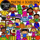Making a Scarecrow Clipart {Creative Clips Clipart}