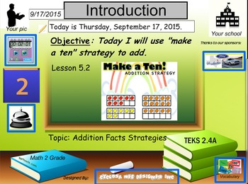 Making a Ten Addition Strategy