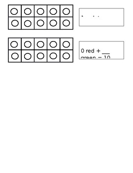Making a Ten with Tens Frames