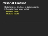 Making a Timeline (PPT)