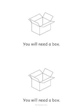 Making a Valentine's Day Box- Emergent Reader