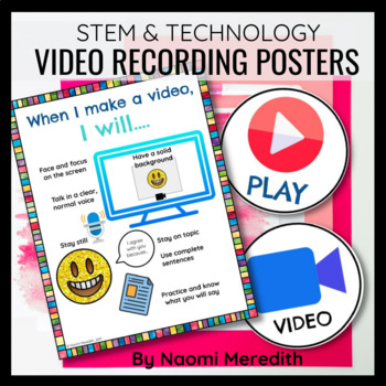 Making a Video Anchor Chart Expectations
