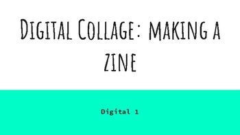 Making a 'Zine Collage Project