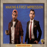 Making a first impression – Business English - ESL Adult conversation classes