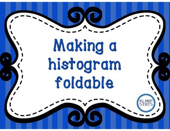 Making a histogram