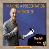 Making a presentation in English – Business English - ESL adult conversation