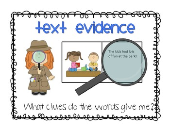 Making an Inference: Anchor Charts and Worksheets