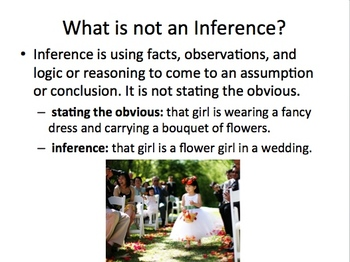 Making an Inference PowerPoint
