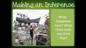 Making an Inference Questions