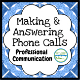 Making and Answering Phone Calls (Slides & Handout)