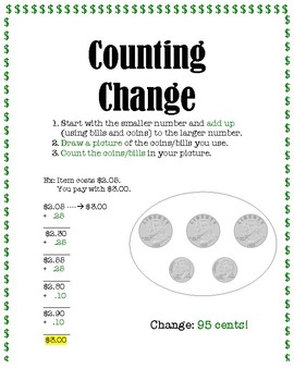 Making and Counting Change