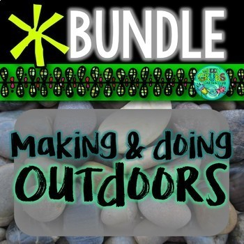 Making and Doing Outdoors!  {Nature Club Activities}