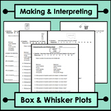Making and Interpreting Box and Whisker Plots