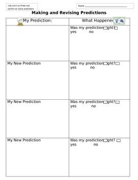 Making and Revising Predictions