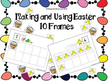 Making and Using Easter 10 Frames