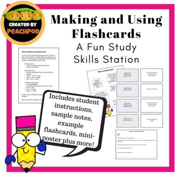 Making and Using Flashcards: A Fun Study Skills Station