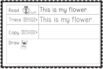 Making and Writing Summer Sentences for Kindergarten ...