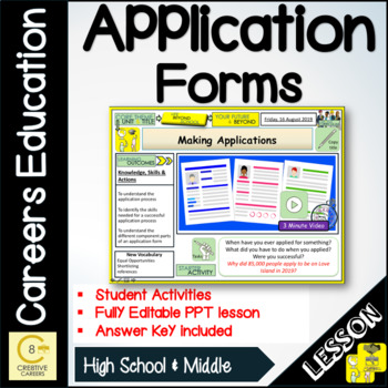 Making applications - Careers and Jobs