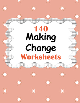 Making change Worksheets