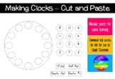 Making clocks - Cut and Paste