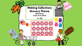 Making collections Grocery Theme Math Game (Tools of the Mind) 11-20