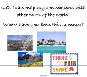 Making connections with other parts of the world
