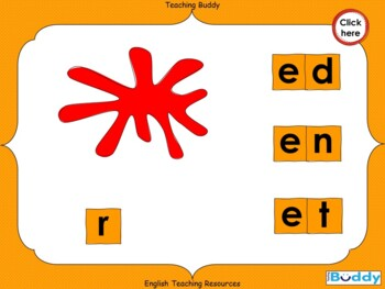 Making ed en and et Words