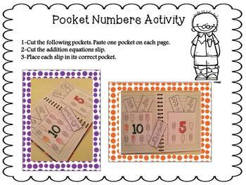 Making five and ten [Interactive Math Notebook Activities]