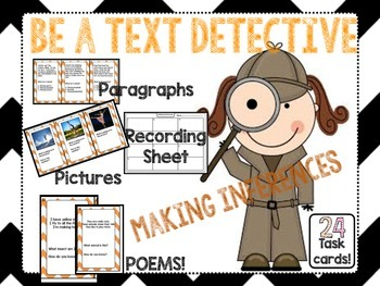 Making inferences be a text detective