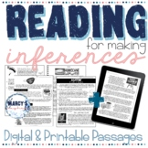 Making inferences worksheets 4th & 5th Reading Comprehensi
