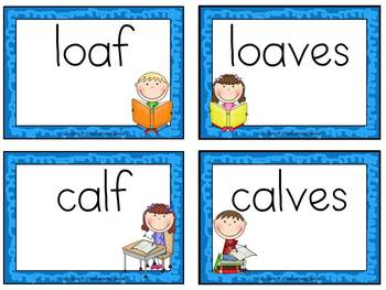 Making it Plural Adding -es to Words that End in f and fe