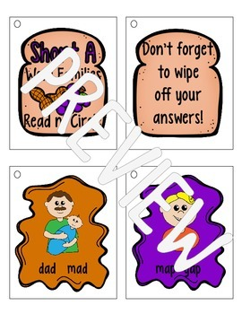 "Making it Stick! {Fun Activities for Short ""A"" Word Families}"