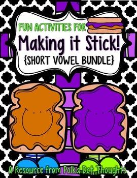 Making it Stick! {SHORT VOWEL BUNDLE}