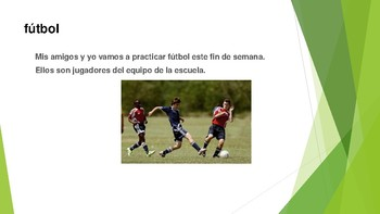 Spanish Sports, Places and Activities: Making learning relevant