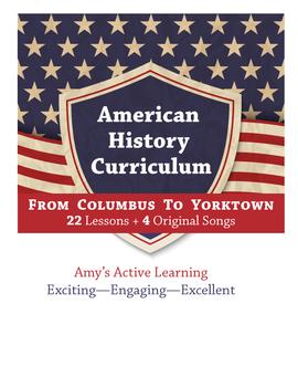Making of America test- Columbus through Jamestown: American History