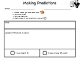 Making predictions for buddy readers
