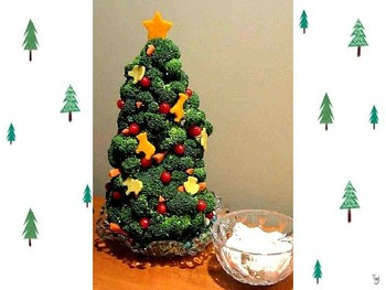 Making scratch paper christmas tree