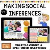 Making social inferences boom cards social skills upper el