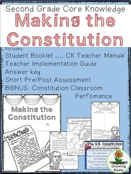 Making the Constitution Second Grade Core Knowledge Unit BUNDLE